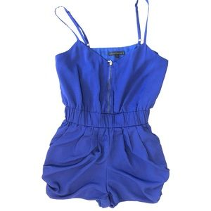Royal Blue Lucca Couture Romper by Urban Outfitter